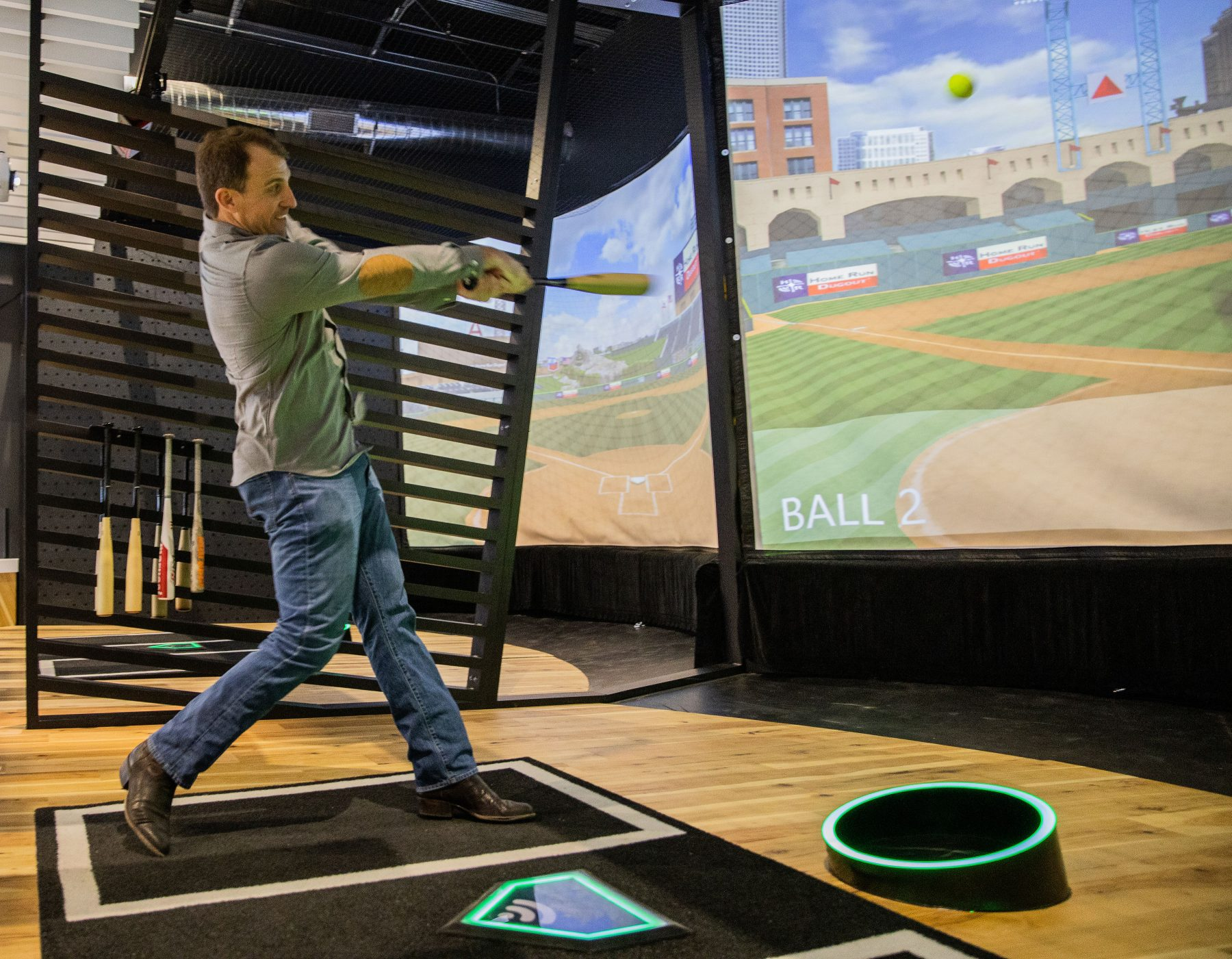 New Virtual Batting Cages Open in Round Rock- Texas Highways